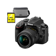 Nikon D3400 Body + AF-P 18-55VR + 16GB + Bag