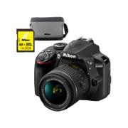 Nikon D3400 Body + AF-P 18-55VR + 16GB + Bag