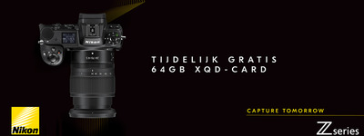 Nikon Z - gratis XQD
