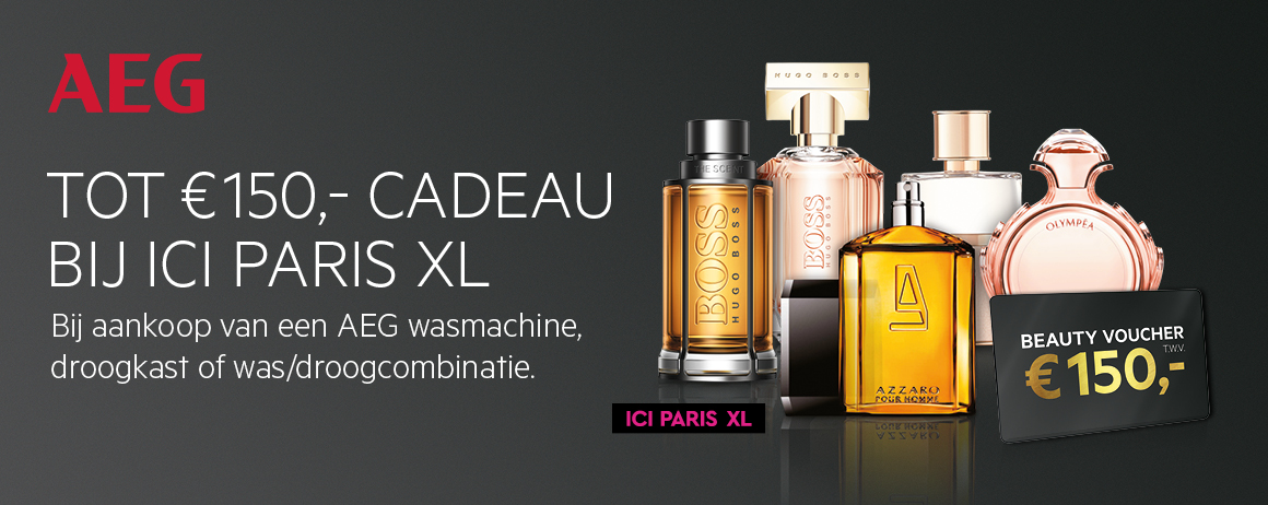 AEG - Tot €150 cadeau bij ICI PARIS XL