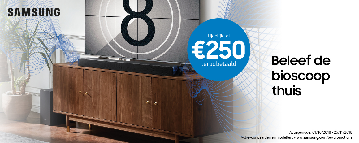 Samsung - Cinematic Soundbar Cashback