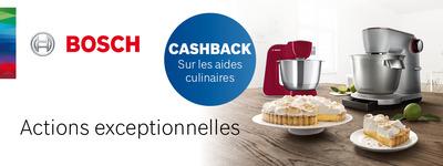 Bosch - Cashback robot de cuisine