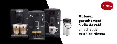 Nivona - 5kg de café offert