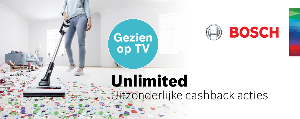 Bosch - Unlimited Cashback
