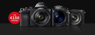 Sony - Tot €150 kassakorting!