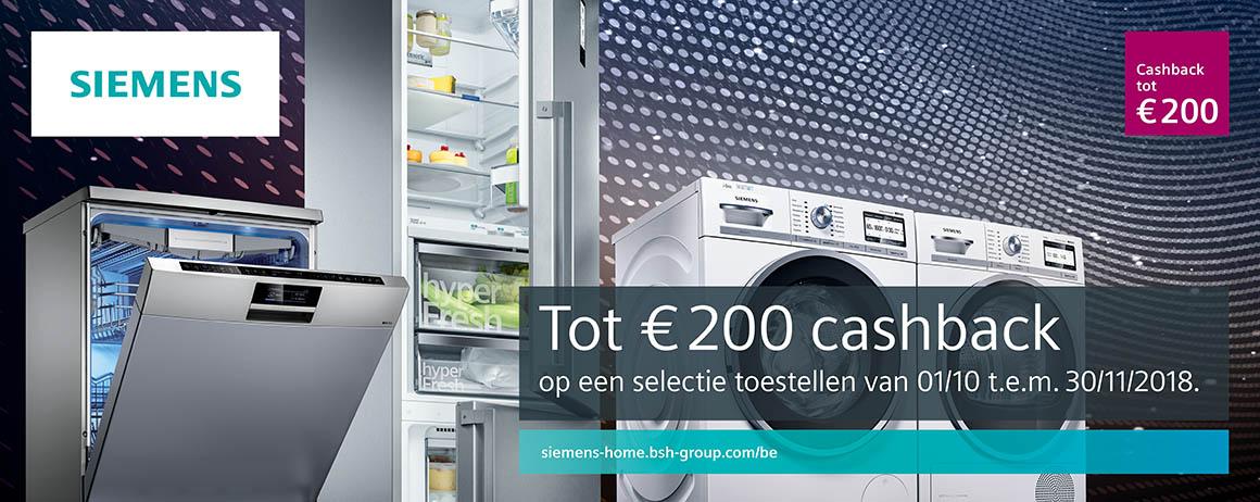 Siemens - Was  Droog actieweken