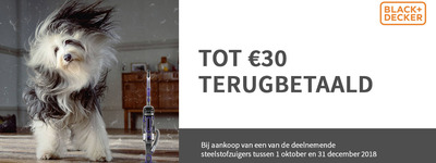 Black+Decker - Tot €30 Cashback