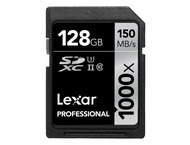 Lexar SDXC Professional UHS-II 1000x 128GB