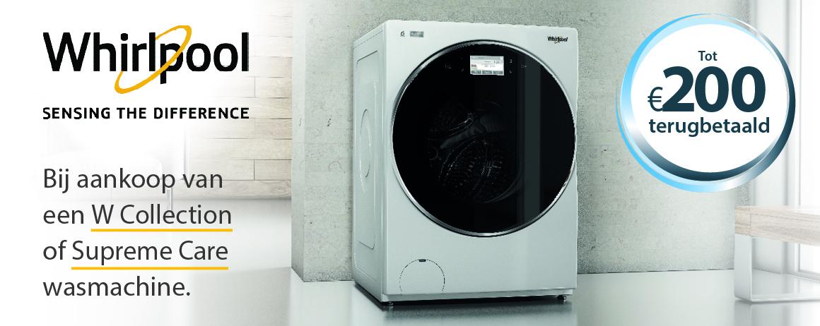 Whirlpool - Wasmachine Cashback
