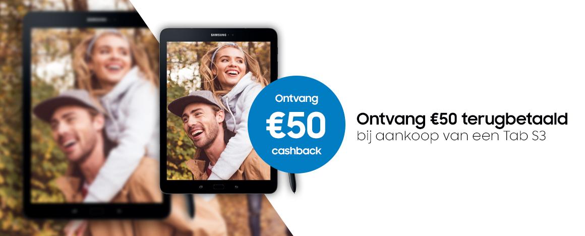 Samsung - Galaxy Tab S3 Cashback