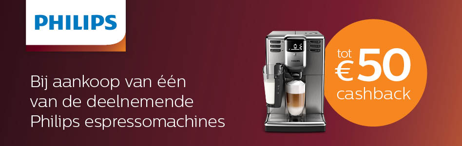 Philips - Espresso Cashback