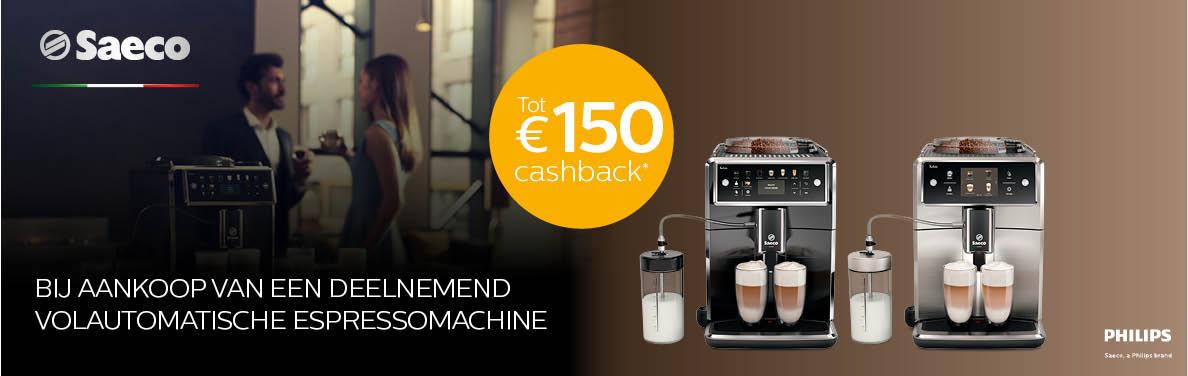 Saeco - Espresso Cashback