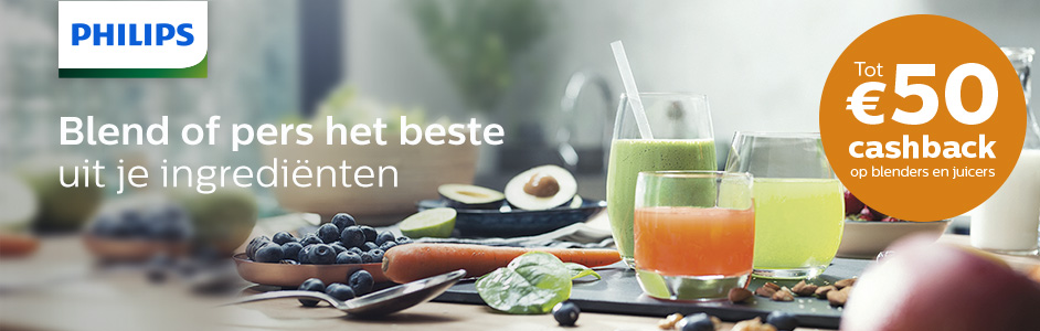 Philips - Healthy Drinks Cashback