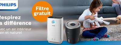 Philips - Filtre gratuit