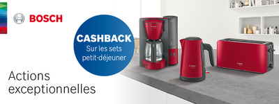 Bosch - Cashback Déjeuner