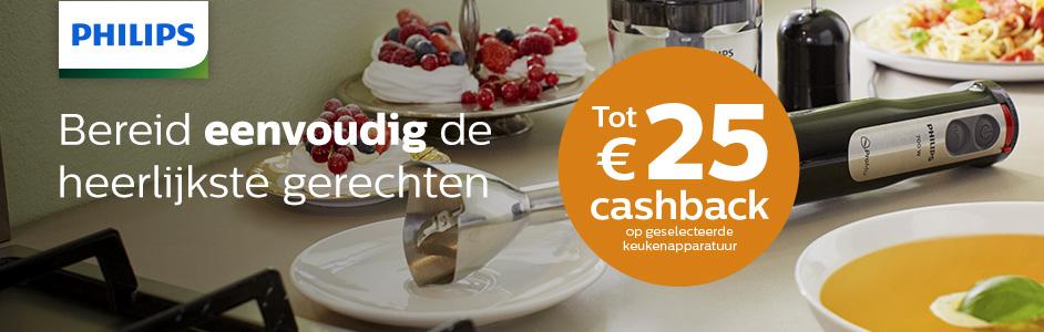 Philips - Foodprep Cashback
