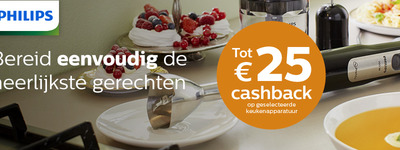 Philips - Foodprep Cashback