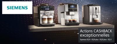 Siemens - Espresso CashBack