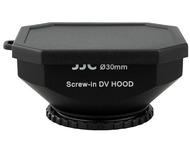 JJC Zonnekap voor videocameras - 30mm