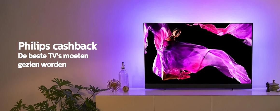Philips - Televisie Cashback!