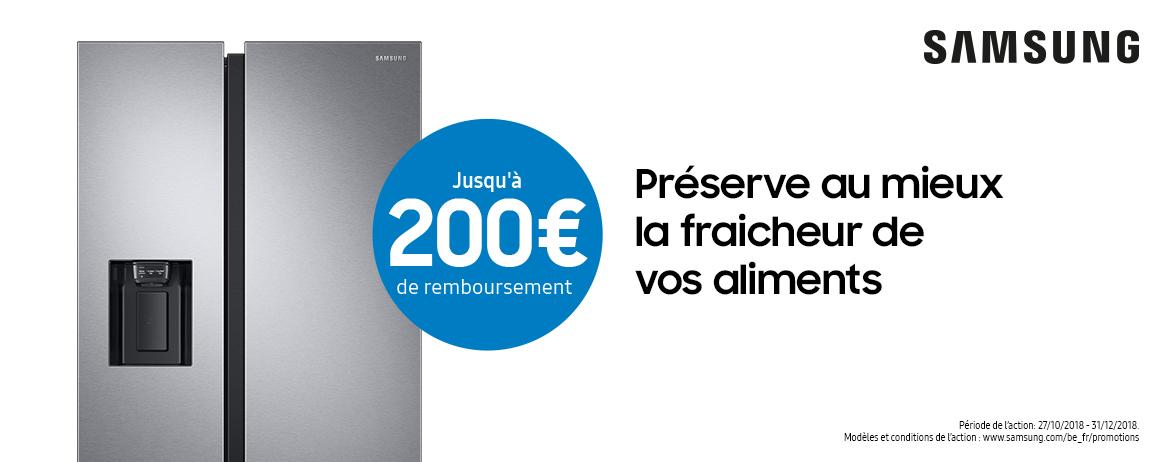 Samsung - Jusquà 200€ Cashback