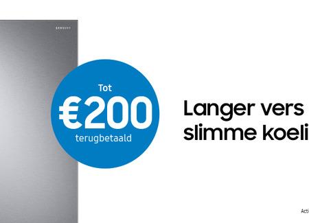 Samsung - Tot €200 Cashback