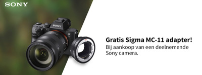 Sony - Gratis Sigma MC-11 Adapter