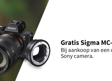 Sony - Gratis Sigma MC-11 Adapter