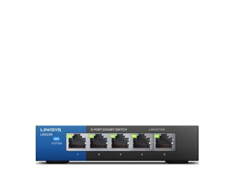 Linksys LGS105 Unmanaged Gigabit Switch 5-port retail pack