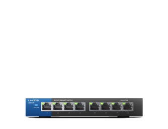 Linksys LGS108 Unmanaged Gigabit Switch 8-port retail pack