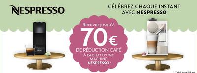 Nespresso - Réduction café