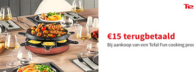 Tefal - Fun cooking Cashback