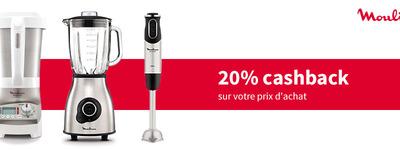 Moulinex - 20% Cashback