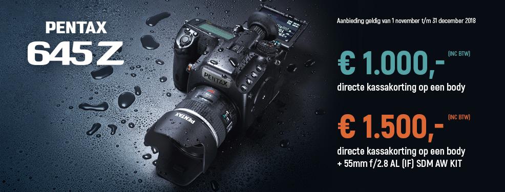 Pentax - Tot €1500 kassakorting!