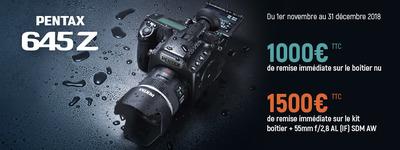 Pentax - Jusquà 1500€ de remise immédiate!