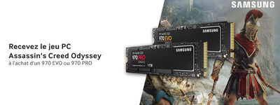 Samsung - Promotion 970 EVO/PRO