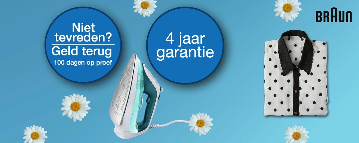 Braun - Nu 4 jaar garantie