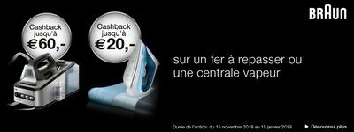 Braun - Cashback jusquà €60