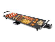 Beper 90.386, elektrische teppanyaki grill XXL, zwart
