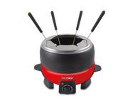 Beper 90.387, elektrische fondue set, rood