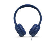 JBL TUNE T500, on-ear HPH, blauw