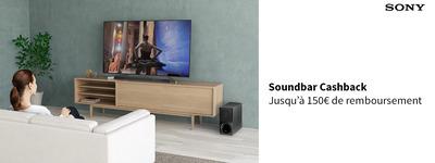 Sony - Soundbar Cashback!