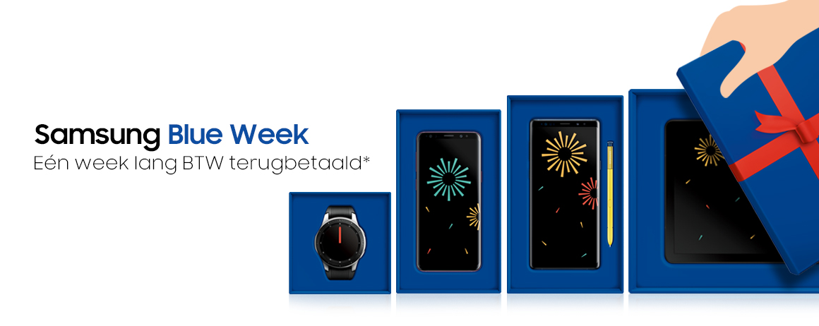 Samsung - Blue Week!