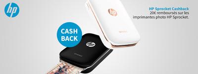 HP - Sprocket Cashback