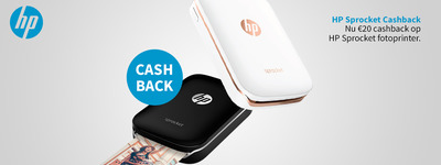 HP - Sprocket Cashback