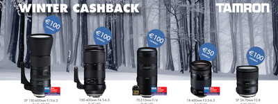 Tamron - Winter Cashback