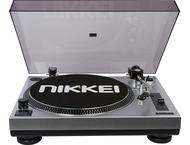 Nikkei ATT15U Draaitafel met USB - Zwart