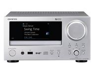 Onkyo Networdk CD Receiver CRN775D Silver