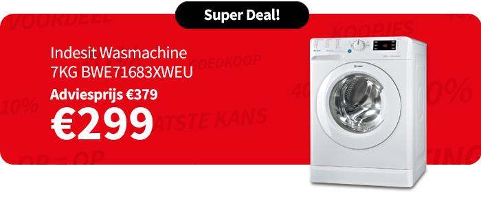 Indesit Wasmachine 7KG