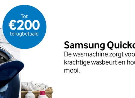 Samsung - Quickdrive cashback